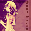 Moonkissed w/text