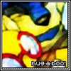 Hug-A-Boo! Logo