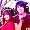 Demi Lovato and Joe Jonas Logo